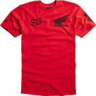 NEW FOX RACING RED MENS ADULT HONDA BASIC SS TEE SHORT SLEEVE S/S T SHIRT