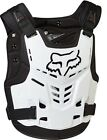 NEW FOX RACING MENS ADULT WHITE PROFRAME LC ROCK ROOST GUARD CHEST PROTECTOR