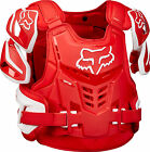 NEW FOX RACING 2016 ADULT RED RAPTOR VEST MX PROTECTION WRAP AROUND PROTECTOR