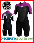 Women's Rip Curl Dawn Patrol Springsuit Shorty Dive Surfing 2mm BEST SELLER