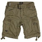 Geographical Norway People Herren Bermuda Cargo Shorts Kurze Hose