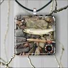 FISHING WITH FLY TROUT TROPHY PENDANTS NECKLACE M - L - XL -dnb7Z