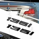 BLACK REAR BOOT 135i NUMBER EMBLEM BADGE BMW 1 SERIES E81 E82 E87 E88 F20 F21