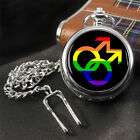 Gay Symbol Pocket Watch