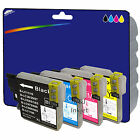 Choice of 4 Compatible Printer Ink Cartridges for Brother LC980 / LC1100 Range