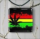 FLAG RASTA PENDANTS NECKLACE M - L - XL -sp9i