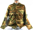US Military NOMEX IABDU AIRCREW BDU SHIRT COAT Woodland Camo Small Med Large XL