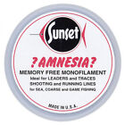 Amnesia Sunset Clear Memory Free Monofilament Fishing Hooklink Line NEW