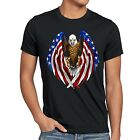 US T-Shirt flagge unites states of america stars and stripes usa adler 4. juli