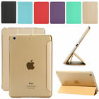 SUPER SLIM MAGNETIC LEATHER SMART COVER HARD CASE FOR APPLE IPAD 2/3/4 MINI AIR