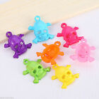 100/500pcs Mix Color Cool Skull Heads Charms Jewelry Findings Halloween Decor