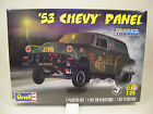 REVELL 1:25 SCALE 1953 CHEVROLET PANEL WAGON DRAG CAR PLASTIC MODEL CAR KIT