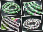 11x16MM New Lampwork Glass Drum Loose Beads 25PCS GD034A