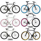 26inch Fixed Gear Single Speed Fixie Bike Road Bicycle High-tensile Freewheel US