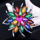 2016 Women Suits Rhinestone Flower Brooch Bridal Bouquet Suits Alloy Brooch Pin