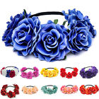 Hot Beautiful Women's Hawaiian Stretch Flower Headband for Garland Party