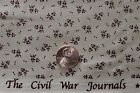"""""""CIVIL WAR JOURNALS"""" REPRODUCTION QUILT FABRIC BY THE YARD MARCUS BROS 3767-0111"""