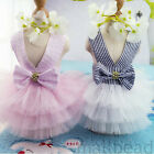 Cute Pet Puppy Small Dog Cat Clothes Tutu Dress Princess Skirt Apparel Costume