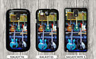 GUITARS ELECTRIC WORLD OF MUSIC CASE FOR SAMSUNG GALAXY S3 S4 NOTE 3 -fcv5Z