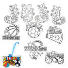 6 Pcs Sports Gecko Imagination Child Painting Template Tool DIY Drawing