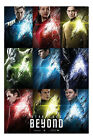 Star Trek Beyond Film Movie Characters Poster New - Maxi Size 36 x 24 Inch