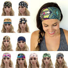 Sexy Women Wide Soft Yoga Hairband Sports Headband Elastic Yoga Hair Band Turban