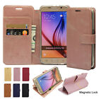 Flip Leather Wallet Case Cover Transparent Clear Soft Jelly For iPhone Galaxy LG