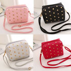 Elegant Polka Dot PU Handbag Girl Backpack Leather Satchel Knapsack Leisure