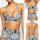 Retro Push-up High Waisted Womens Sexy Bikini Set Swimsuit Beachwear Swimwear AU