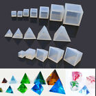 Clear Silicone Pendant Mold DIY Making Jewelry Resin Casting Mould Craft Tool