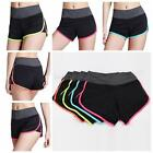 Summer Pants Women Sports Shorts Ladies Gym Workout Waistband Skinny Yoga Short