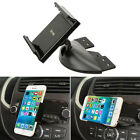 360° Car Auto CD Slot Mount Cradle Holder Stand For iPhone Smart Cell Phone GPS