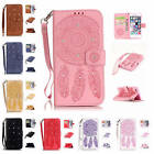 """For iPhone 6 6s 4.7""""Case Rhinestone Wind Chime Leather Card Slot Kickstand Cover"""