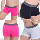 Womens Fashion Sport Gym Workout Waistband Underwear Pants Yoga Shorts