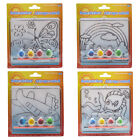 DIY Drawing Template Brush Ink Set Child Painting Learning Toy Kid Craft Gift