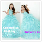 Flower Girl Dress for Christmas New Year SchoolParty Princess Birthday gift 2-14