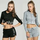 new Women Long sleeve Hoodie Sweatshirt Jumper Sweater Pullover Tops Coat Pants@