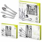 16, 24, 40pc Cutlery Set Stainless Steel Tableware Dining Knives Forks Spoons