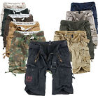 SURPLUS Raw Vintage DIVISION / ROYAL Cargo SHORTS Bermuda US ARMY kurze Hose