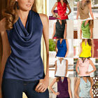 Fashion Women Summer Vest Top Sleeveless Blouse Casual Tank Tops T-Shirt BlouseT