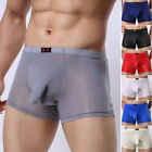New Trunks Sexy Underwear Mens Boxer Briefs Shorts Bulge Pouch Bottom Underpants