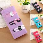 Cute Women Wallet PU Leather Money Clip ID Credit Card Clutch Holder Case Purse