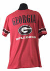 Georgia Bulldogs Youth Kryton Raglan Long Sleeve Shirt