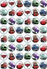 48 x 3 CM DISNEY CARS EDIBLE RICE/WAFER PAPER CUPCAKE/FAIRY CAKE TOPPERS