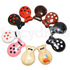 Childrens Small Wooden Espana Castanets Flamenco Spanish Book Week Fancy Dress