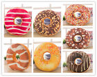 Colorful Doughnut Donut Shaped Ring Plush Soft Cushion Novelty Pillow