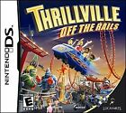 Thrillville: Off the Rails (Nintendo DS, 2007) Complete!