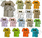 HIT THE TRAIL HIKERS BOOTS HIKING CAMP GEAR WEAR APPAREL GRAPHIC PRINTED T-SHIRT
