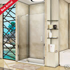 1200 Frameless Pivot Shower Door Enclosure and Tray 8mm Easy Clean Glass Screen