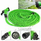 Garden Hose Strongest Expandable Hoses With FREE Spray Nozzle 25~150 Feet Green